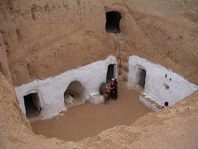 Matmatské podzemní obydlí