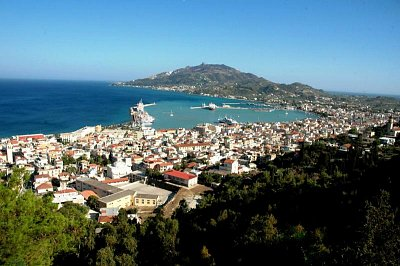 Pohled na Zakynthos