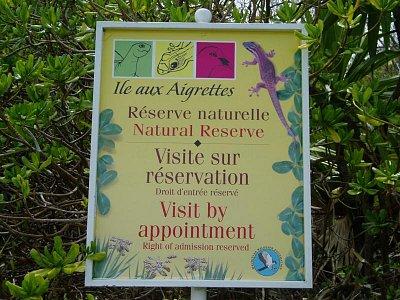 Vstup na ostrov pouze s povolením