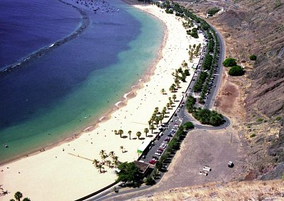 Playa de las Teresitas (nahrál: Richard Tlaskal)