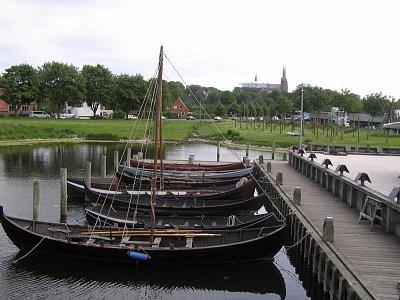 molo a repliky vikingských lodí, Roskilde (nahrál: admin)