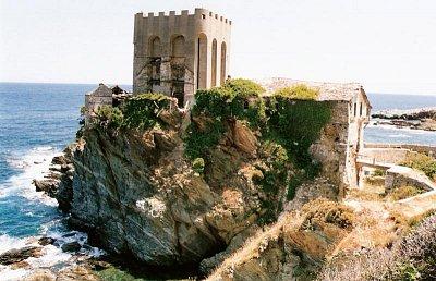 svatá hora Athos - přístaviště kláštera M. Lavra (nahrál: z.pejchal)