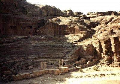 Římský amfiteátr v Petře (nahrál: admin)