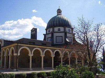 Nazaret-chrám Blahoslavenství (nahrál: admin)