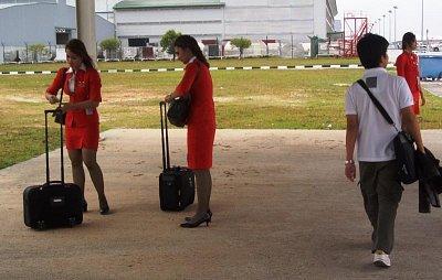 Letušky Air Asia (nahrál: admin)