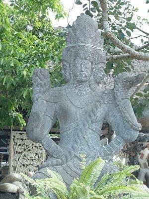 Socha na Bali (nahrál: admin)