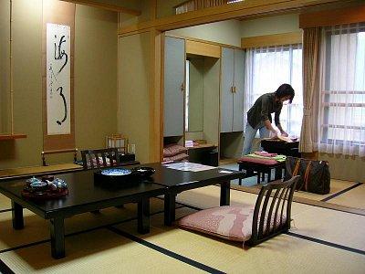 Ryokan v Nagánu (nahrál: admin)