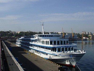 černomořský přístav v Oděse (nahrál: Kamil Hainc)