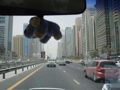 Na dubajské ulici. (nahrál: Jechort)