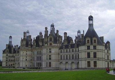 zámek Chambord (nahrál: petras21)