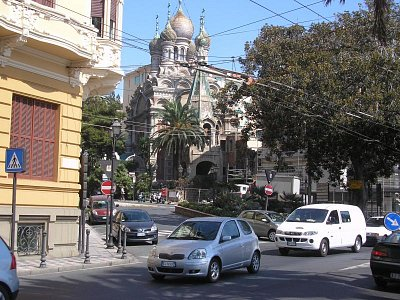 San Remo pravoslavný kostel (nahrál: Jitka Zagorová)