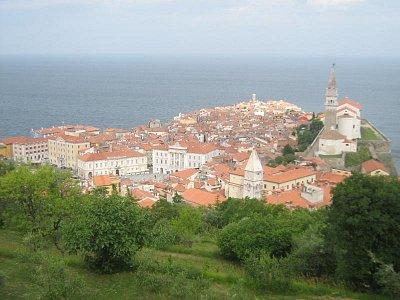Pohled od Františkánského kláštera