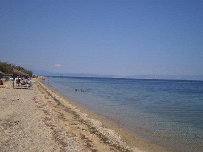 Thassos - Pláž-Skala Prinos (nahrál: šárka)