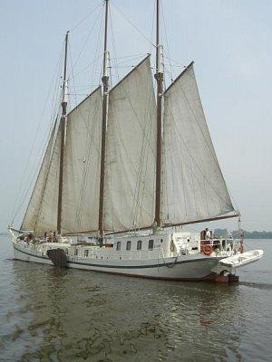 Lodí po Frísku 6/2008