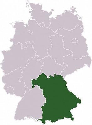 Bavorsko - Bavorsko Zdroj: wikipedia.org (nahrál: admin)