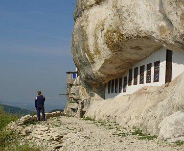 Mangup v zari,Krym